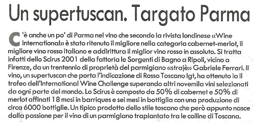 Gazzetta di Parma MAR2005