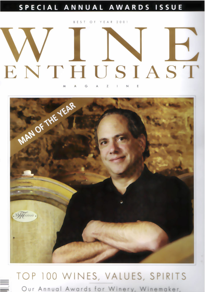 wine enthusiast 2001
